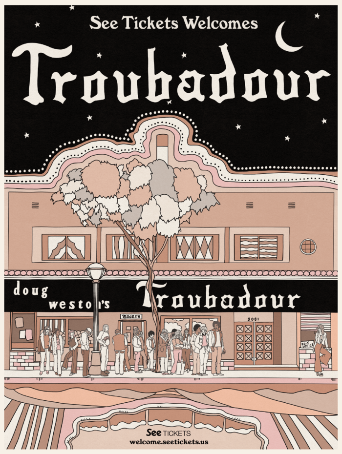 The Troubadour Poster